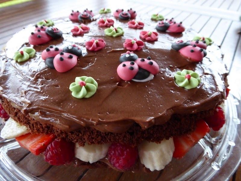 Nutelová torta