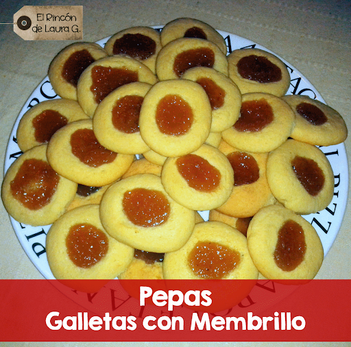 Pepas • Galletitas con Membrillo