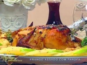 Frango Assado com Farofa