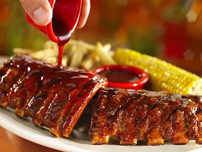 carne assada no forno com molho barbecue