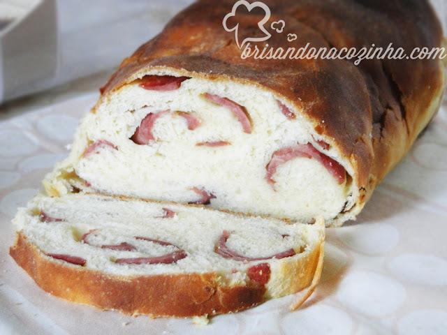 Pão de farinha de mandioca sem gluten