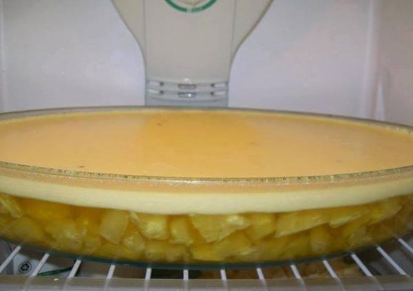 geladão de gelatina