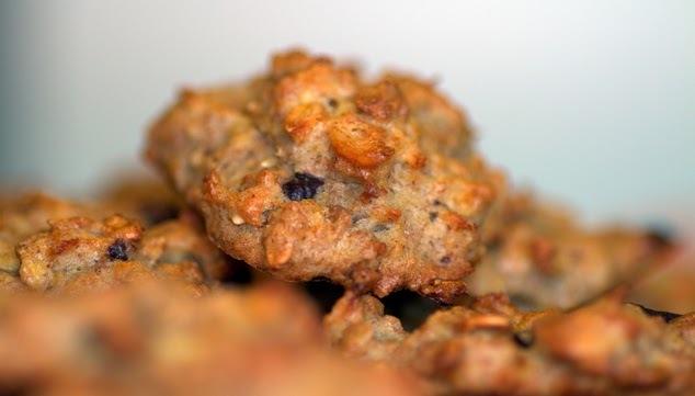 Receta de galletas de nueces y chocolate artesanales
