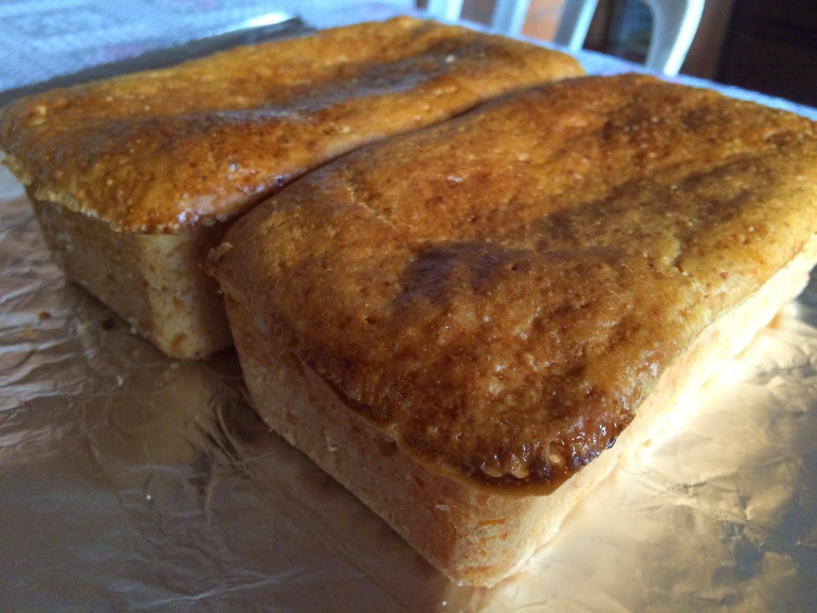 Pão de forma delicioso.