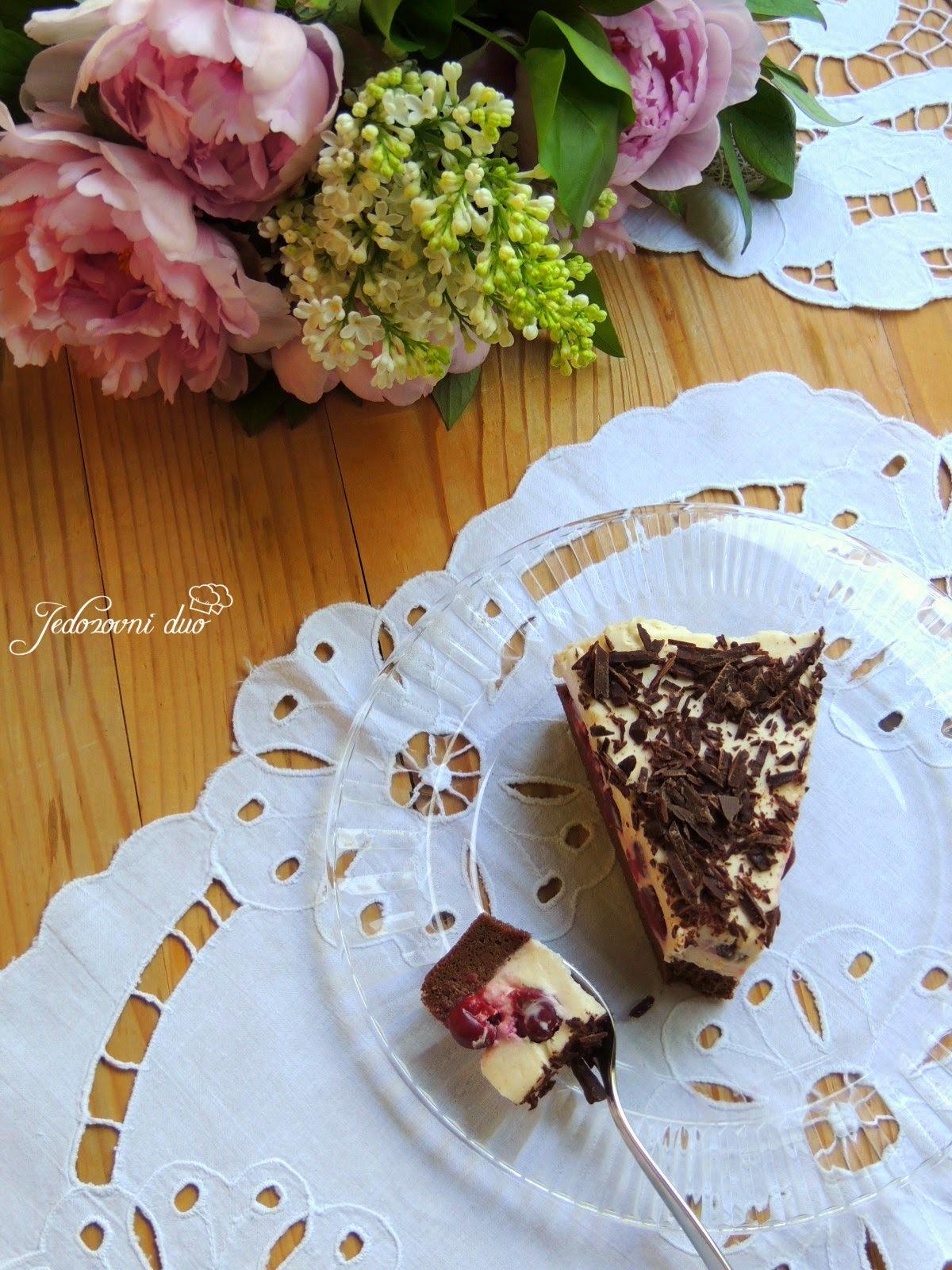 """""""Schwarzwald"""" cheesecake"""