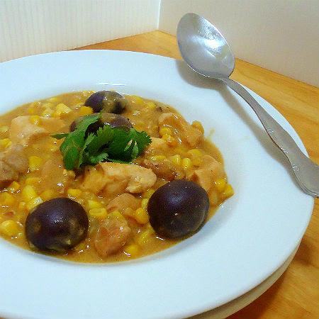 Pork Chicken and Potato Stew in Peanut Sauce
