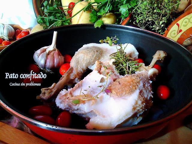 Pato  confitado en su propia grasa  ¿Cómo se hace?