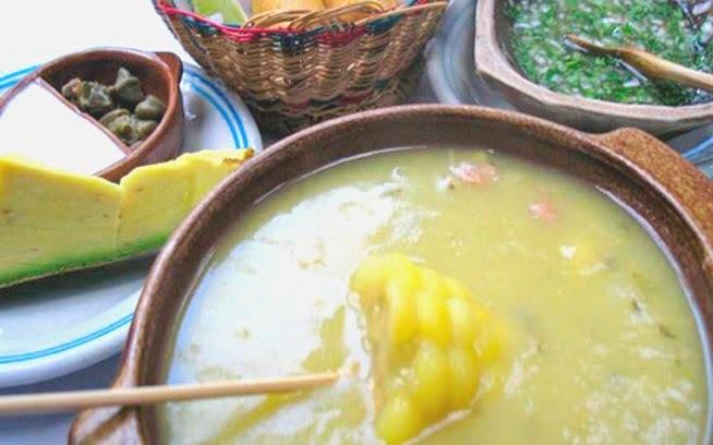 Receta del Ajiaco Colombiano