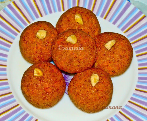 Gajar Ka Laddu: Carrot Sweet Ball