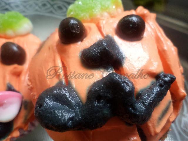 Cupcakes Sr. Abóbora - Haloween