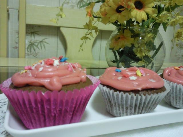 Cupcake de bicho de pé