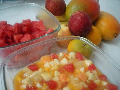 Salada Caseira de Frutas: Sabor com Saúde!