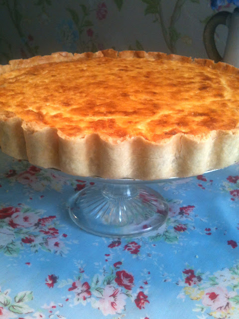 quiche with mince