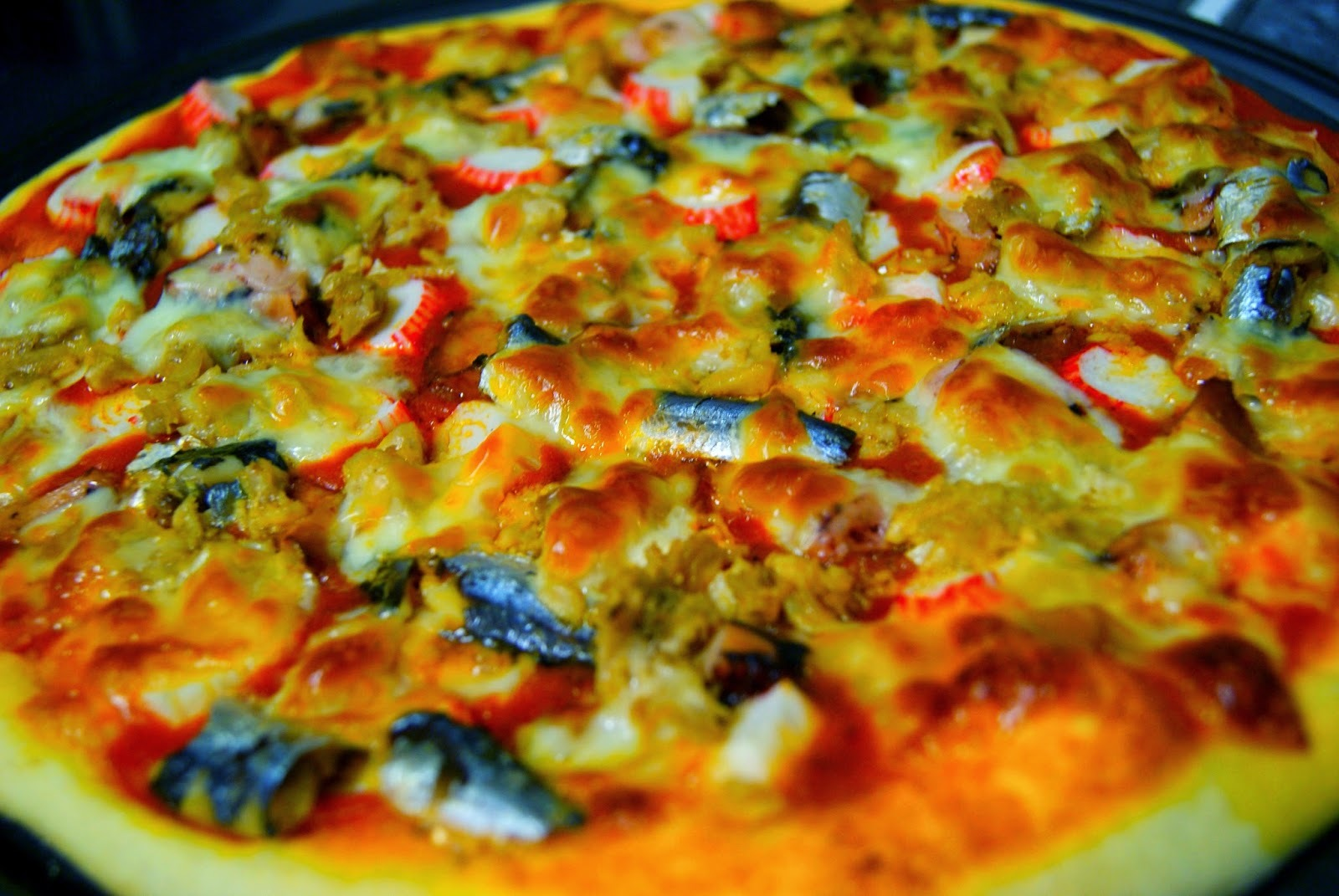 Pizza de Pescado y Marisco