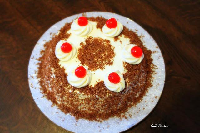 Black forest cake  |  Keralan cake  |  Kukskitchen