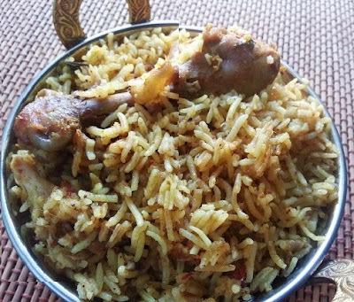 Chettinad style Chicken Biryani