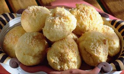 biscoito doce de polvilho assado com mandioca