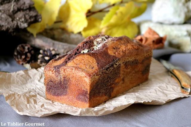 Le gâteau du goûter : le marbré vanille-tonka-chocolat de Christophe Felder (vous ne verrez plus le Savane et Brossard de la même manière)