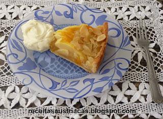 TORTA DE MAÇÃ INGLESA - Englischer Apfelkuchen