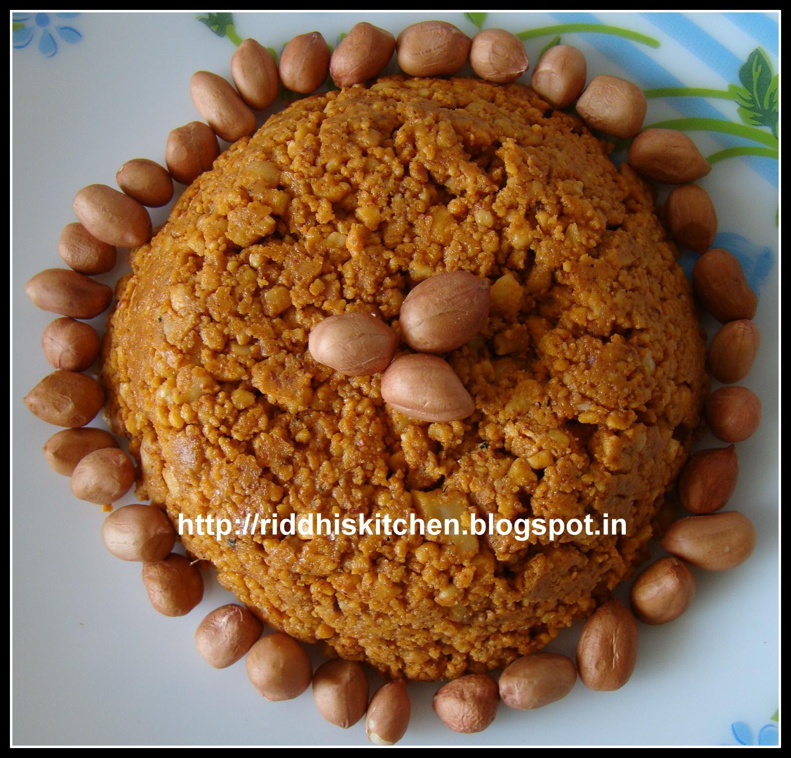 Maharashtrian  Groundnut Chutney