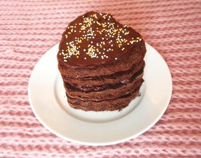 Valentínske čokoládové tortičky podľa Dity P.