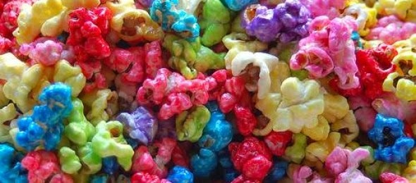 pipoca salgada colorida receita