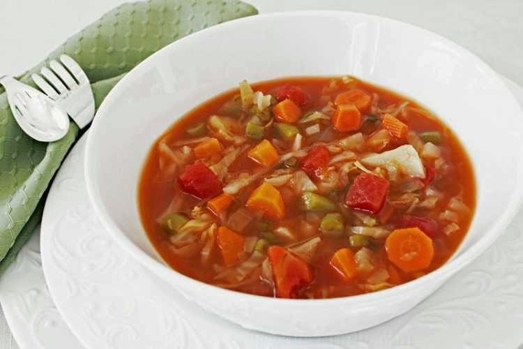 A sopa milagrosa que emagrece 1 kg por dia