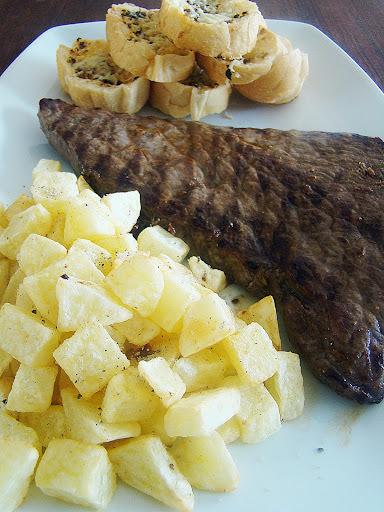 batatinha conserva churrasco