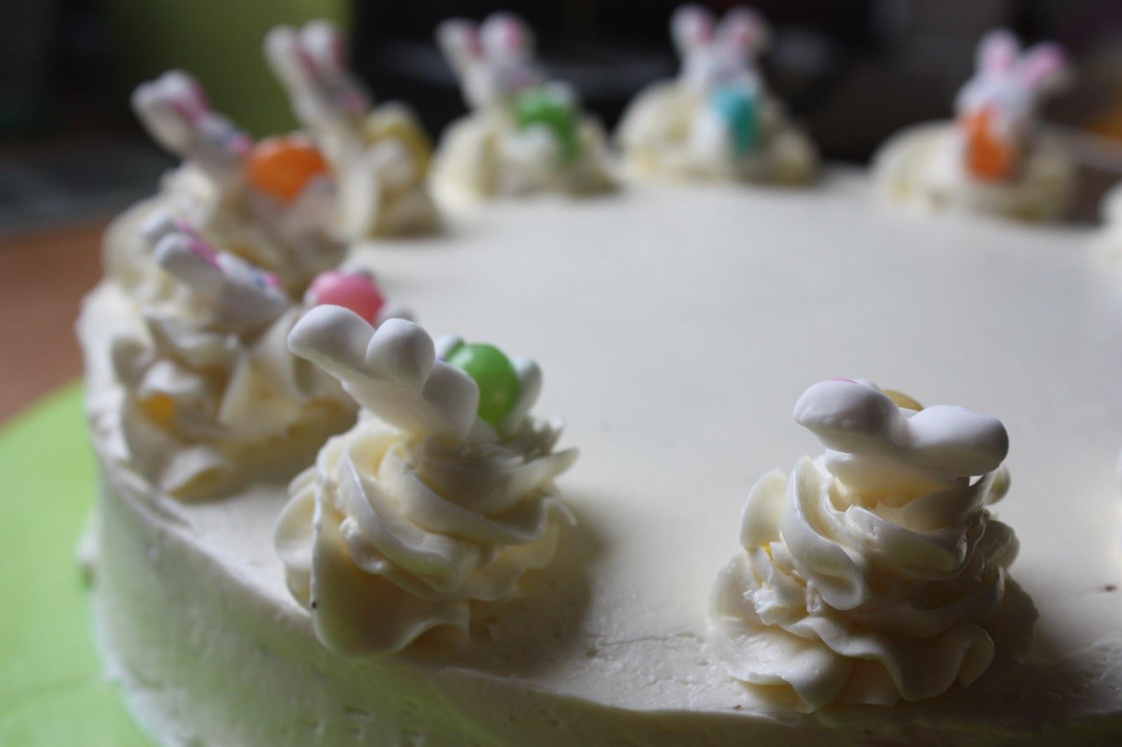 white ferrero raffaello cake
