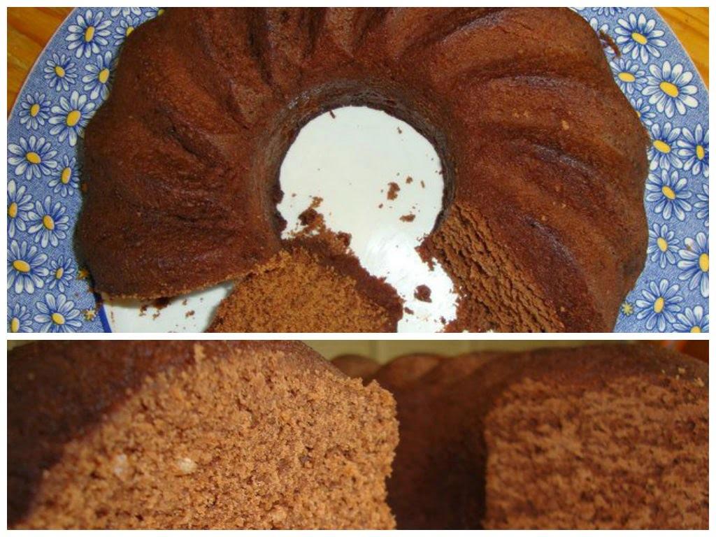 Devil's Food Cake en Microondas