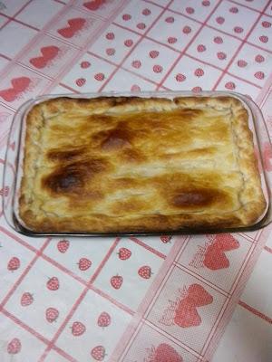 TORTA DE PALMITO DE MASSA FOLHADA