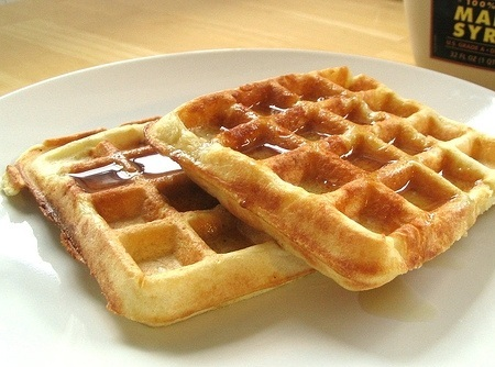 Hoje tem: Waffles!!!