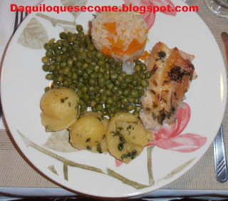Jantar Português: Receitas parte II; prato principal.