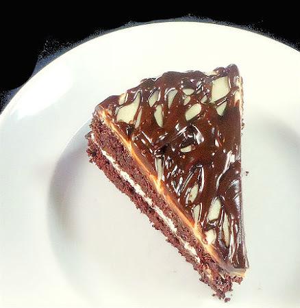 Black Stout and Irish Cream Cake