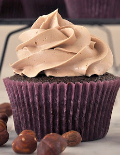 Cupcake de Nutella e Buttermilk