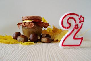 Marmelada od kestena, kolačići,  i .........., blogo-rođendan ! :)