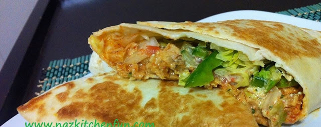 Chicken Chili Cheese Shawarma Wrap