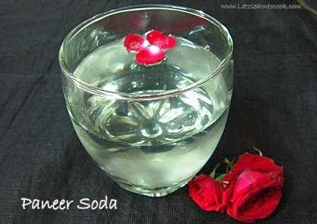 Homemade Paneer Soda