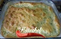 Torta Suflê de Queijo e Aveia Super Saudável