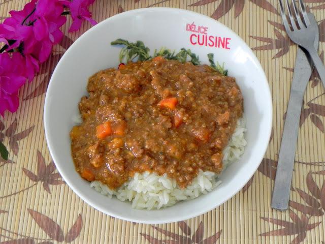 Carne Moída com Quinua ao Molho de Tomate (receita econômica e nutritiva)