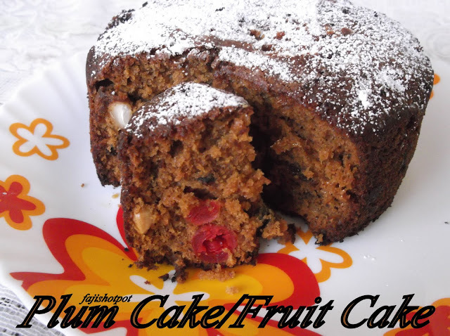 Plum Cake/Fruit Cake