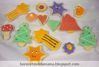 Receta de Galletas caseras decoradas con glasa real (royal icing)