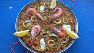 Fideua..La receta Favorita de Catalunya....( Barcelona)