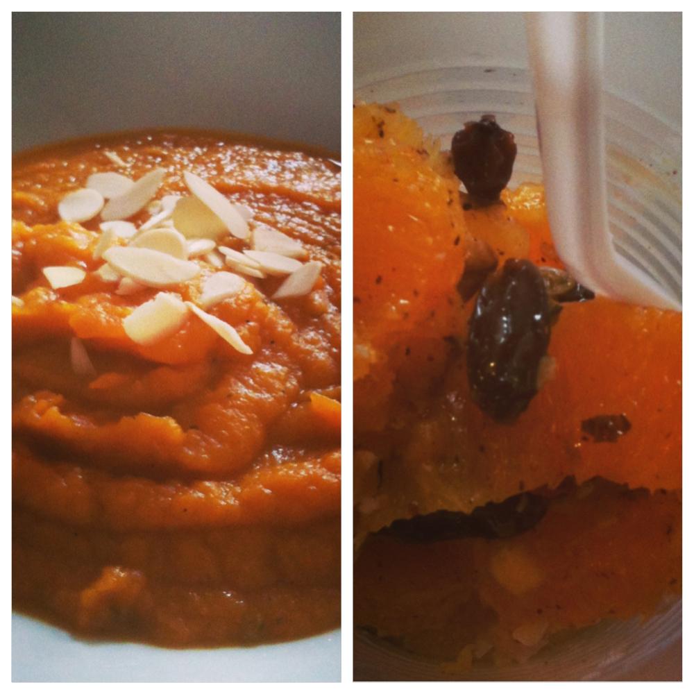 Clase #7: Crema de zapallo y jengibre, estofado de mariscos con tallarines y naranjas marroquíes