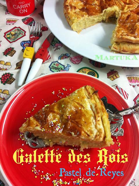 Galette Des Rois (Pastel De Reyes Magos)
