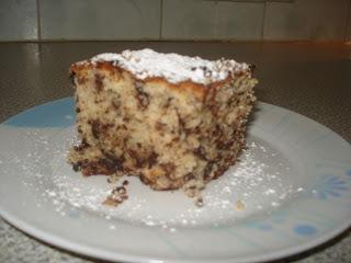 Κέικ με κομματάκια σοκολάτας