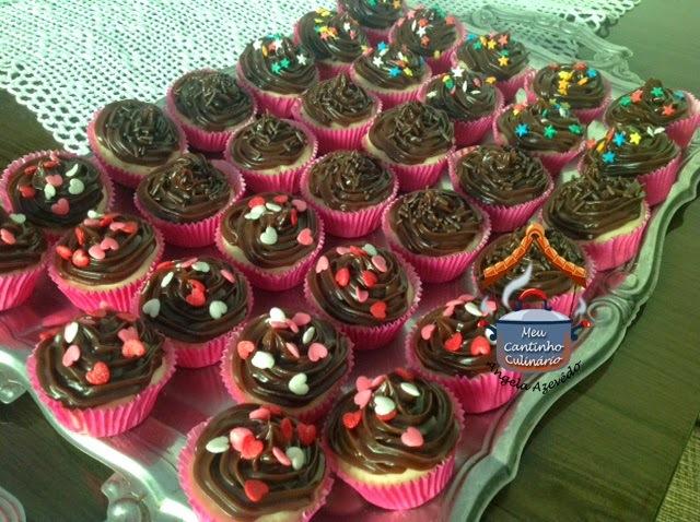 cupcakes com cobertura mais dura