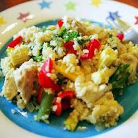 Salada de Frango com Cuscuz Marroquinho