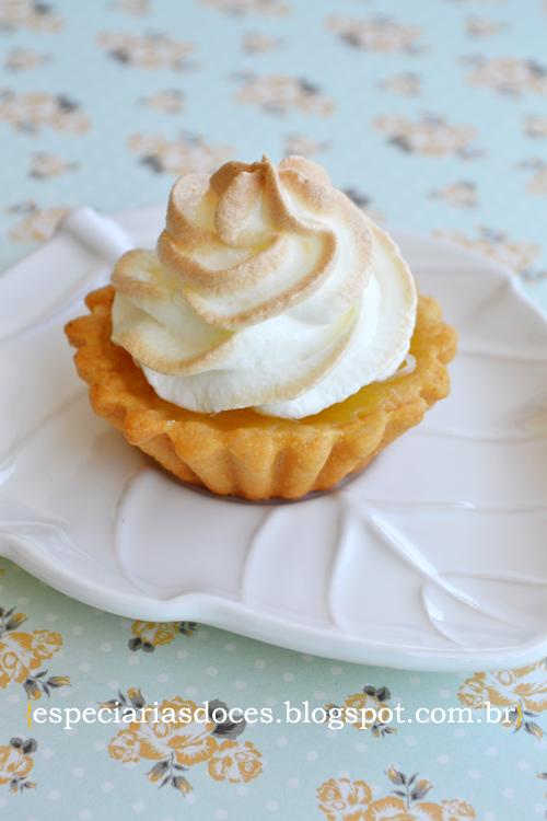 Docinho de casamento: tortinha de limão
