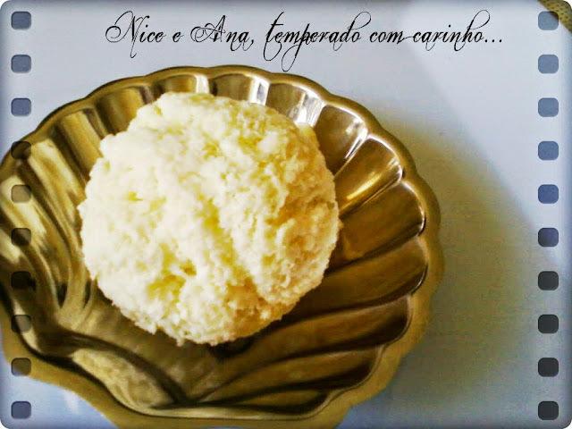 sorvete de suco de saquinho com leite em pó